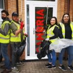 Cambria join forces with Penarth Marina Litterpickers!
