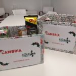 Cambria support Cardiff Foodbank this Christmas